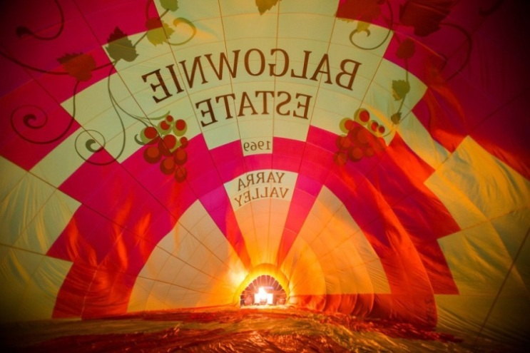 Global Ballooning (Feature) - Balgownie Balloon - Set Up