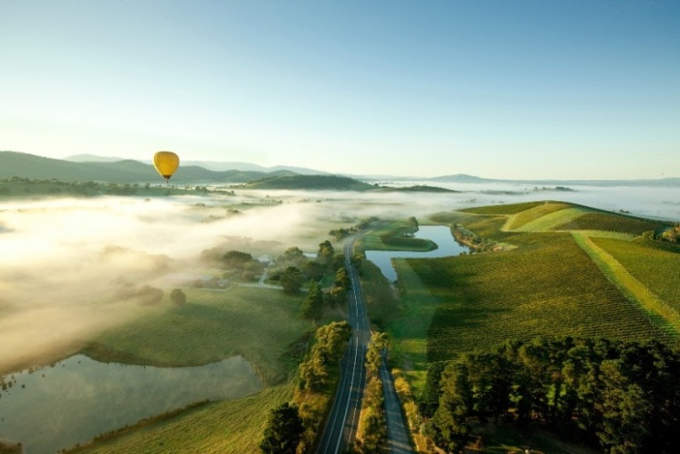 Global Ballooning (Feature) - Yarra Valley Chandon -visionsofvictoria1350624