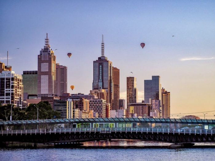 Melbourne city flight-Global Ballooning Australia