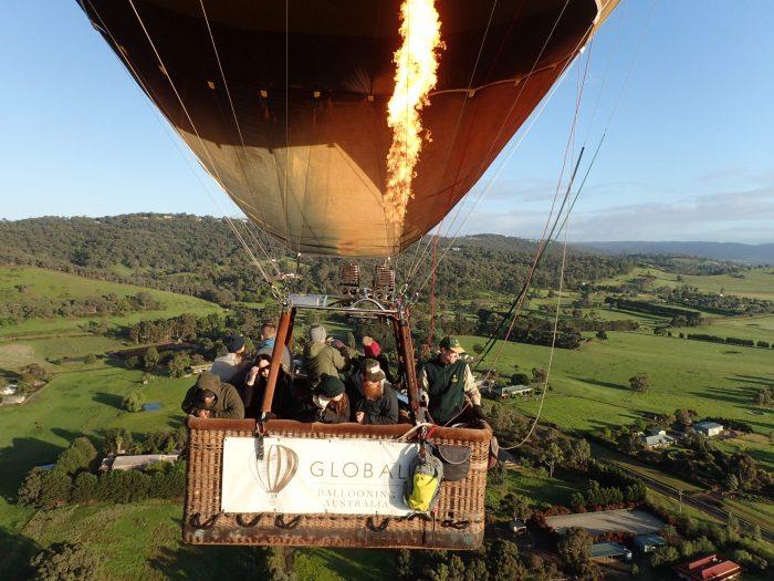 亚拉河谷热气球