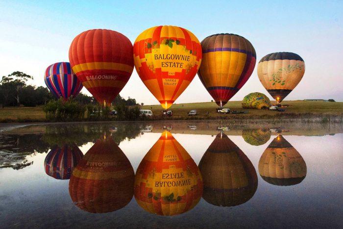 Yarra Valley 亚拉河谷热气球